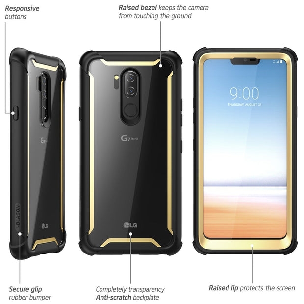 LG G7 ThinQ Ares Case-Gold