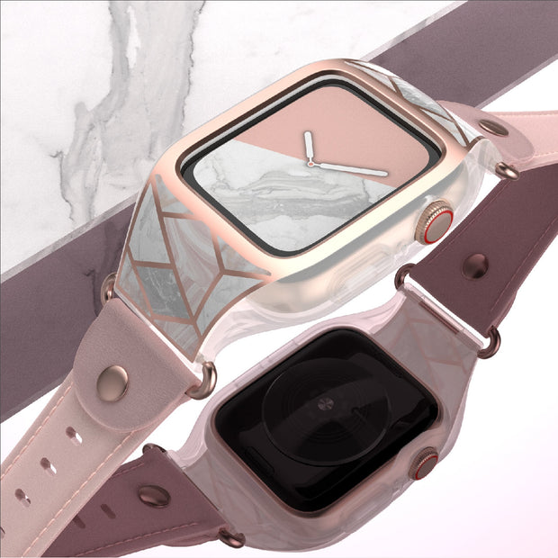 Apple Watch 3 42mm Cosmo Case-Marble Pink