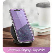 iPhone 11 Cosmo Case-Marble Purple