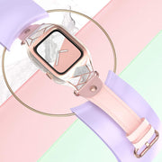 Apple Watch 3 38mm Cosmo Case-Marble Pink