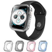 Apple Watch 6 | 5 | 4 | SE (40mm) Halo Clear Case-Color Pack