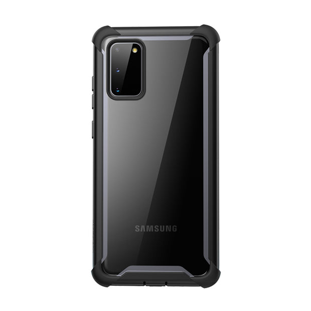 Galaxy S20 Ares Clear Rugged Case-Black