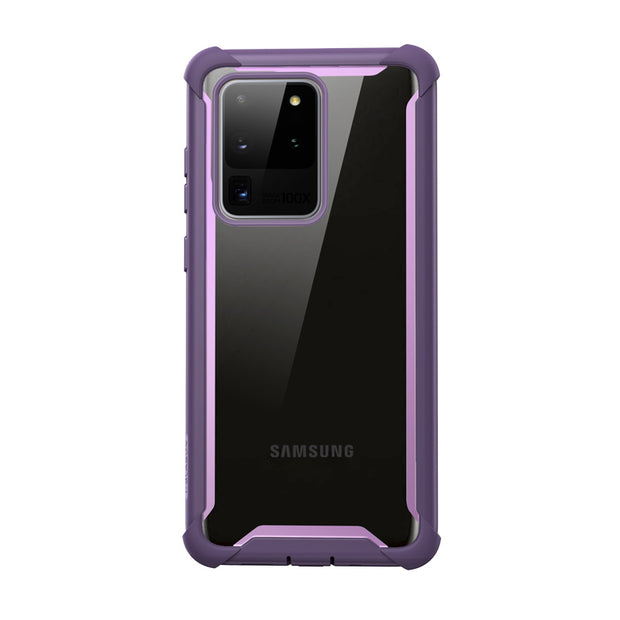 Galaxy S20 Ultra Ares Clear Rugged Case-Purple
