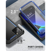 iPhone 11 Pro Ares Case-Blue