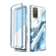 Galaxy S20 Plus Cosmo Case-Marble Blue