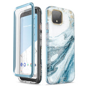 Google Pixel 4 Cosmo Case-Marble Blue
