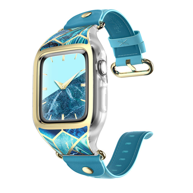 Apple Watch 38mm Cosmo Case - Ocean Blue