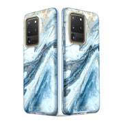 Galaxy S20 Ultra Cosmo Case-Marble Blue