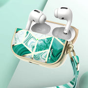 Apple AirPods Pro Cosmo Case-Marble Green
