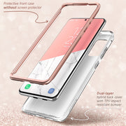 Galaxy S20 Plus Cosmo Case - Marble Pink