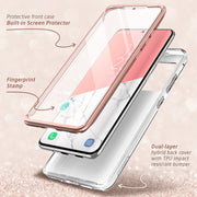 Galaxy S20 Ultra Cosmo Case (with Screen Protector) - Marble Pink