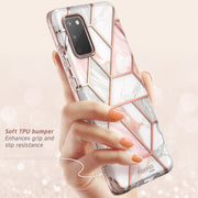 Galaxy S20 Cosmo Case - Marble Pink