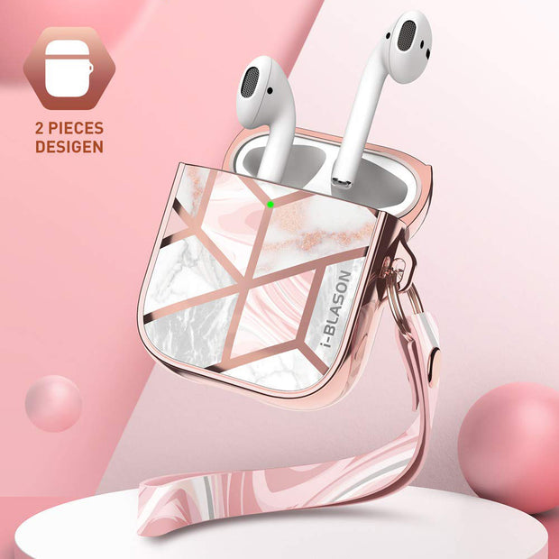 AirPods 1 | 2 Cosmo Case-Marble Pink