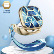 Galaxy Buds Live (2020) Cosmo Case-Ocean Blue