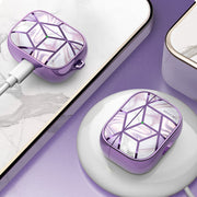 AirPods Pro Cosmo Case-Marble Purple