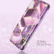 Galaxy A10e Cosmo Case - Marble Purple