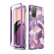 Galaxy S20 Cosmo Case-Marble Purple
