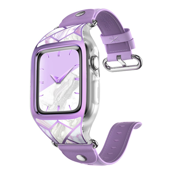Apple Watch 3 38mm Cosmo Case-Marble Purple
