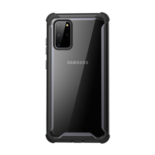 Galaxy S20 Plus Ares Clear Rugged Case-Black