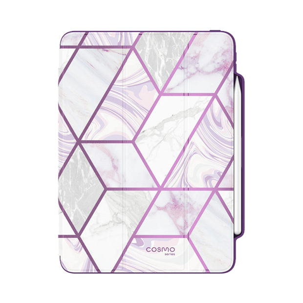 iPad Pro 12.9 inch (2020) Cosmo Case - Marble Purple