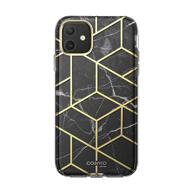 iPhone 11 Cosmo Case-Marble Black