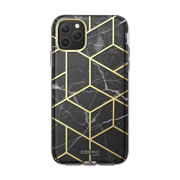 iPhone 11 Pro Max Cosmo Case-Marble Black