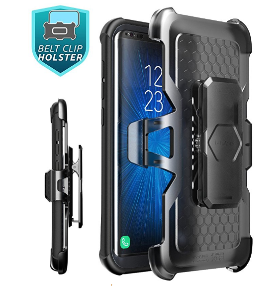 Samsung Galaxy S8 Ares Case-Black