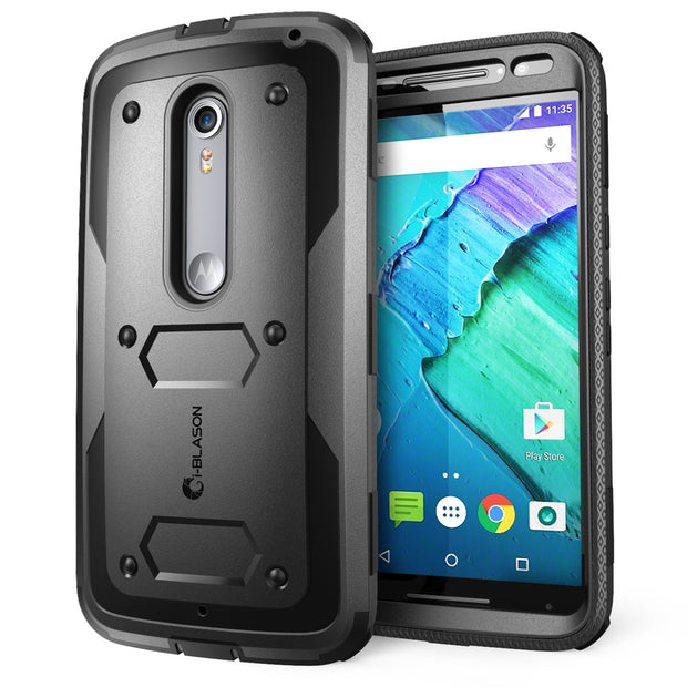 Moto X Pure Armorbox Case-Black