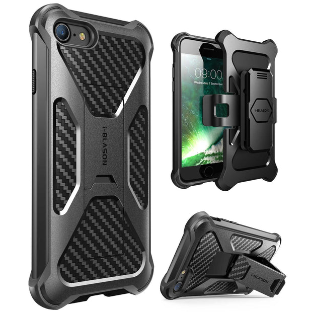 iPhone 8 | 7 Transformer Case-Black