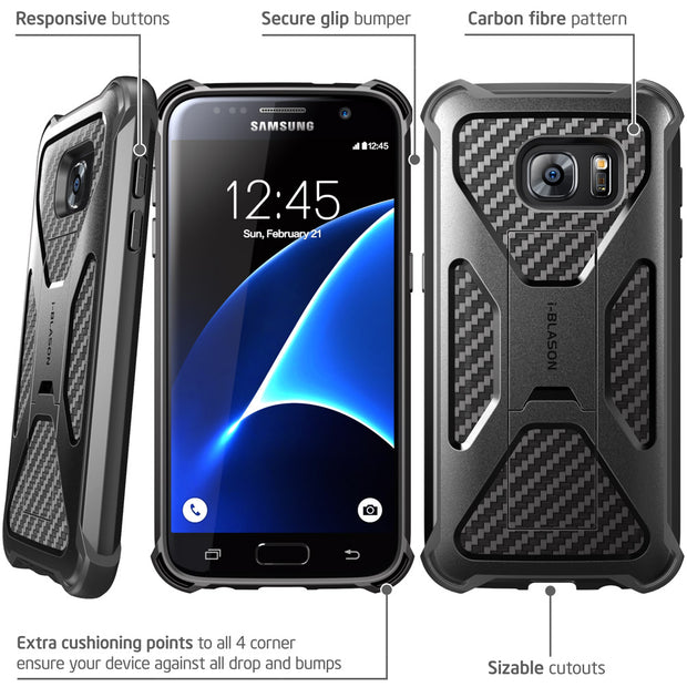 Samsung Galaxy S7 Edge Prime Case-Black