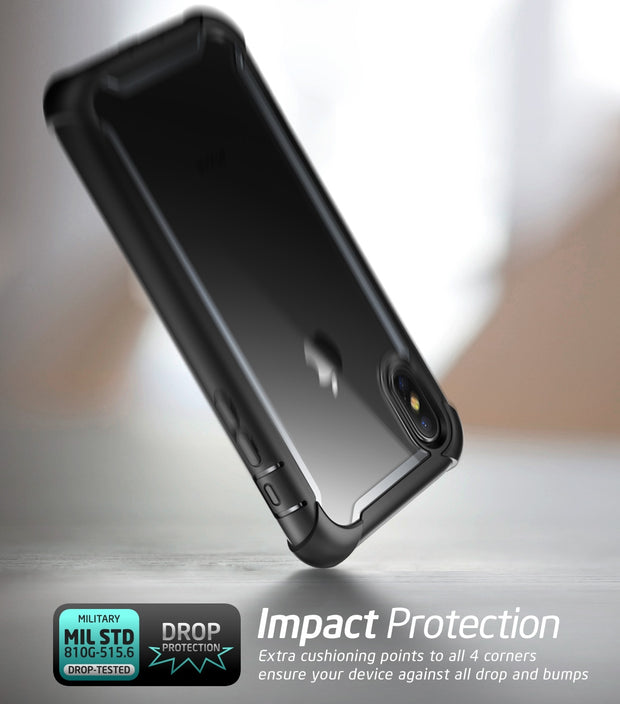 iPhone XS Max Ares Case-Black