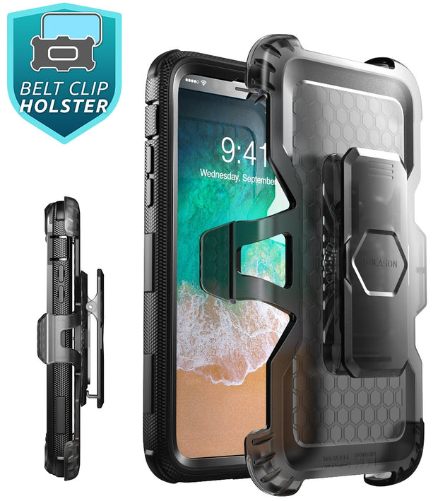 iPhone XR Armorbox Case-Black