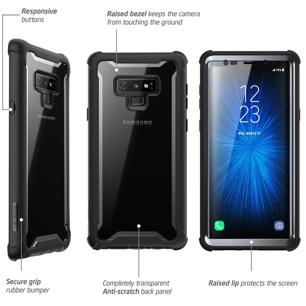 Galaxy Note9 Ares Case - Black