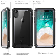 iPhone XR Ares Case-Black