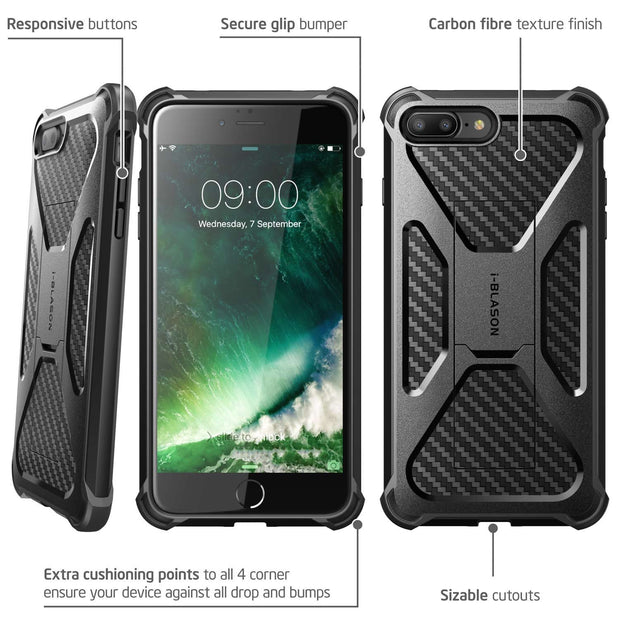 iPhone 8 Plus | 7 Plus Transformer Case-Black