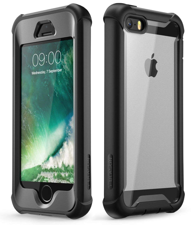 iPhone SE Ares Full Body Protective Case -Black
