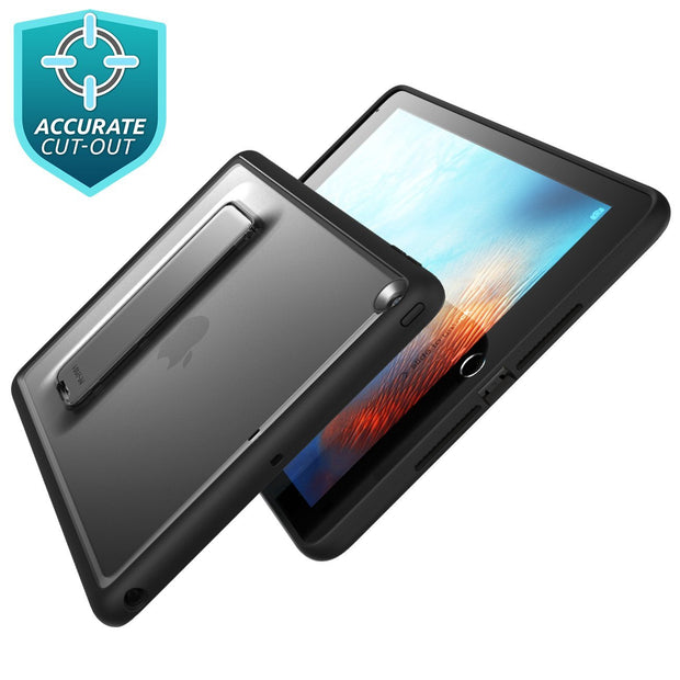 iPad 9.7 inch (2017 & 2018) Halo Case-Black