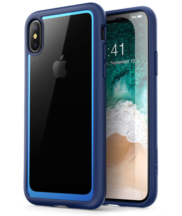 iPhone XS | X Halo Case-Navy