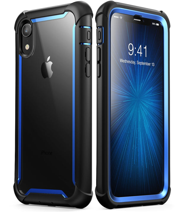 iPhone XR Ares Case-Blue