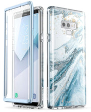 Samsung Galaxy Note9 Cosmo Case-Marble Blue
