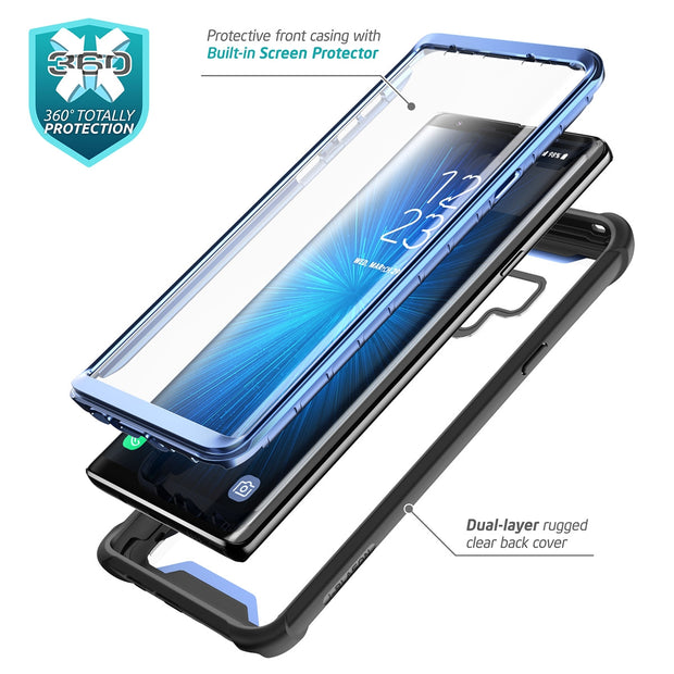 Samsung Galaxy Note9 Ares Case-Blue
