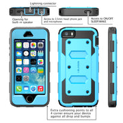 iPhone 5 | 5S Armorbox Case-Blue/Black