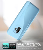 Samsung Galaxy S9 Luna Case-Blue