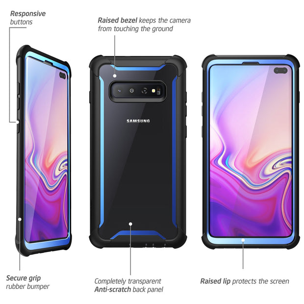 Samsung Galaxy S10 Plus Ares Case-Blue