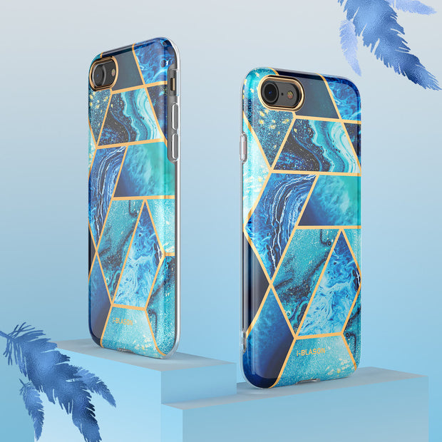 iPhone SE (2020) Cosmo Lite Case-Ocean Blue