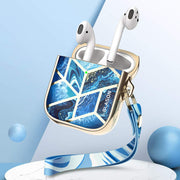 AirPods 1 | 2 Cosmo Case-Ocean Blue