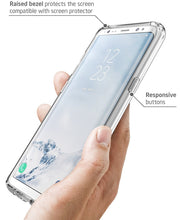 Samsung Galaxy S8 Halo Case-Clear