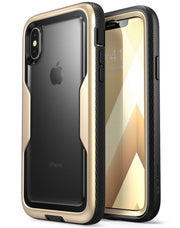 iPhone XS | X Magma Case-Gold
