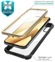 iPhone XS Max Ares Case-Gold