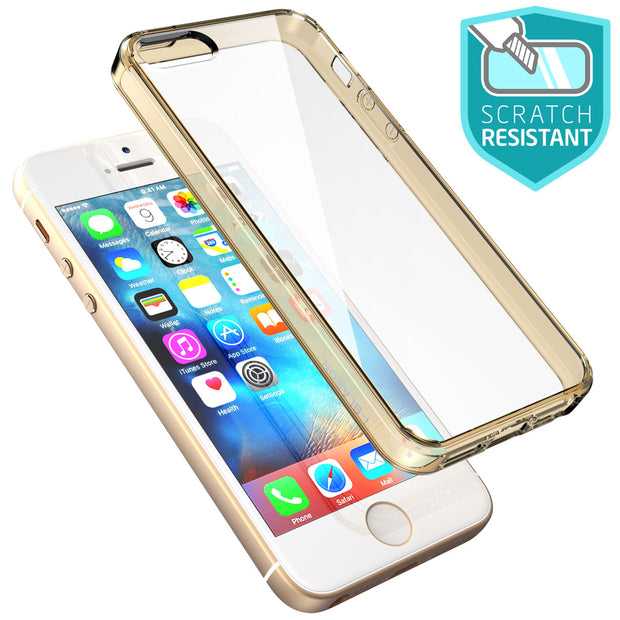 iPhone SE Halo Case-Gold